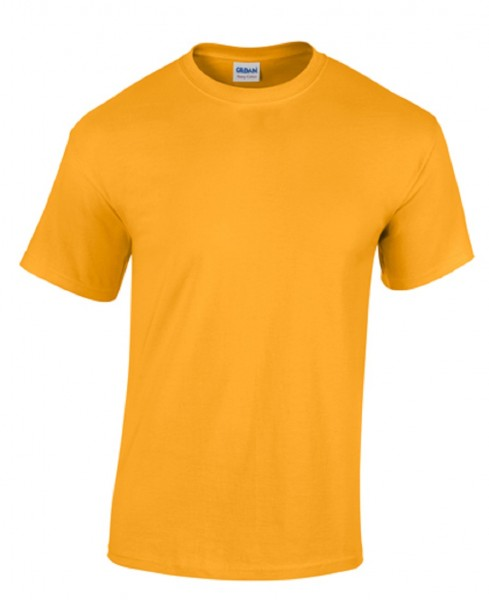 GILDAN Teavy CottonT-Shirt, gold.