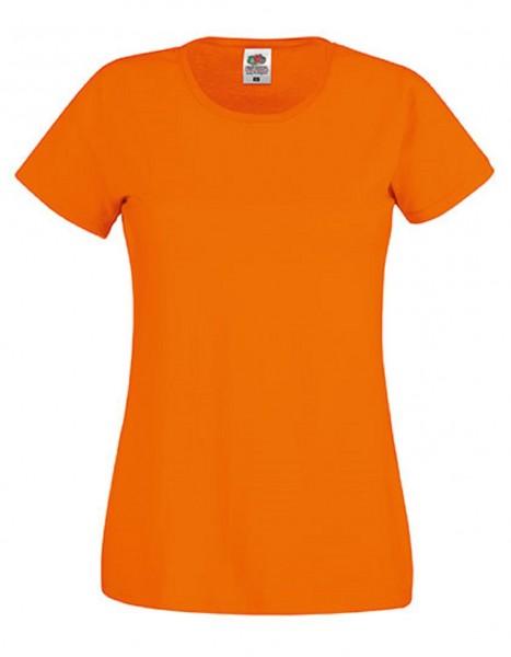 Damen T-Shirt Lady Fit: orange
