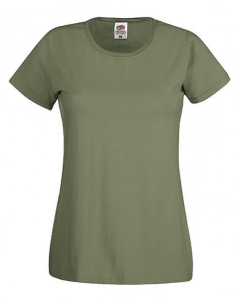 Damen T-Shirt Lady Fit: classic olive
