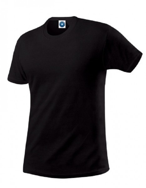 Performance T-Shirt mit UV-Schutz, black.