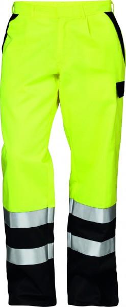 Günstige Multinorm-Warnschutz-Bundhose, gelb/schwarz,CHRISTOPH