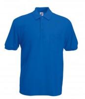 Pocket Polo F532, royal blue.