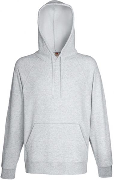 Lightweight Hooded Sweat, White