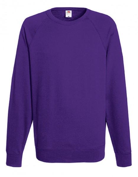 Leightweight Raglan Sweat, purple.