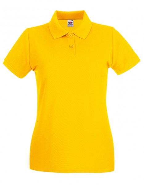 Damen Polo Lady-Fit: sunflower