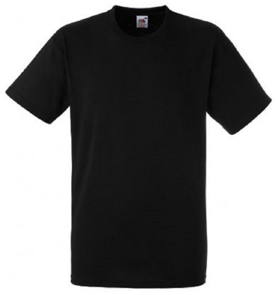 Heavy Cotton T-Shirt, black