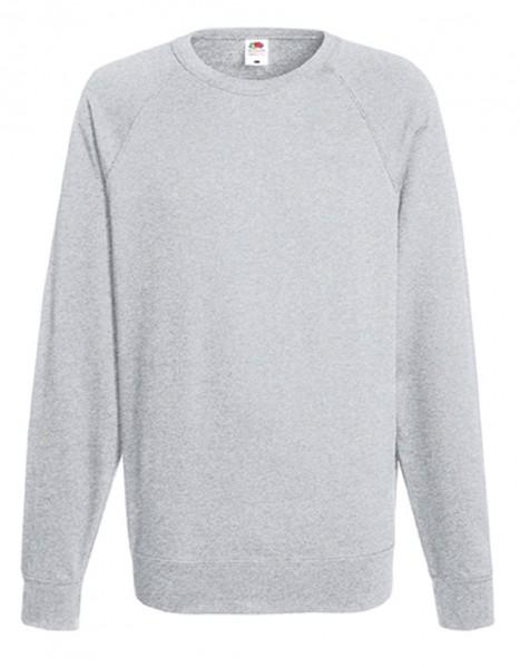 Leightweight Raglan Sweat, heather grey.