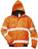 Warnschutz-Pilotenjacke orange, TOM.