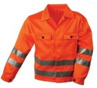 Sehr günstige Warnschutz Arbeitsjacke orange, ALOIS. 44