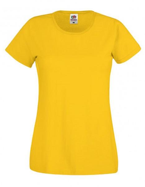 Damen T-Shirt Lady Fit: sunflowe.