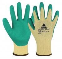 Arbeitshandschuh mit grüner Latexbeschichtung, Hase Neogrip Green