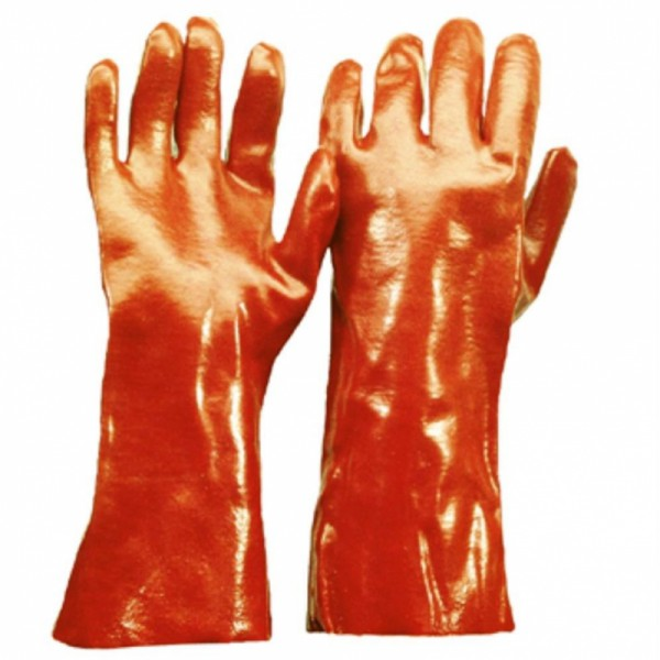 PVC Handschuh CAT 3, 35 cm