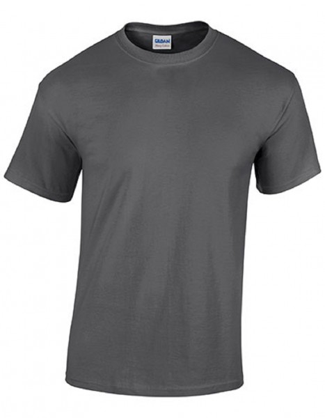 GILDAN Teavy CottonT-Shirt, dark-heather.