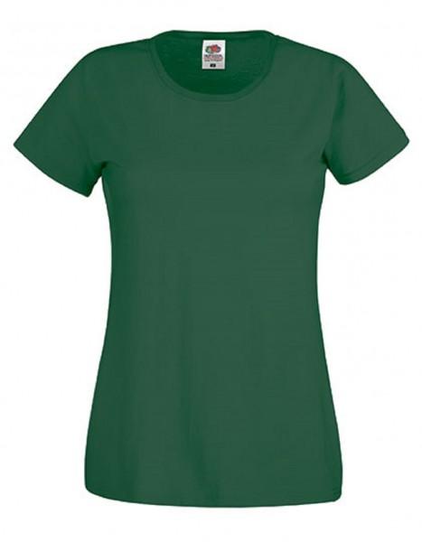 Damen T-Shirt Lady Fit: bottle green