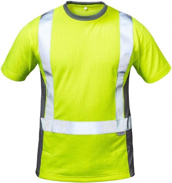 Warnschutz T-Shirt AMSTERDAM, gelb/grau.