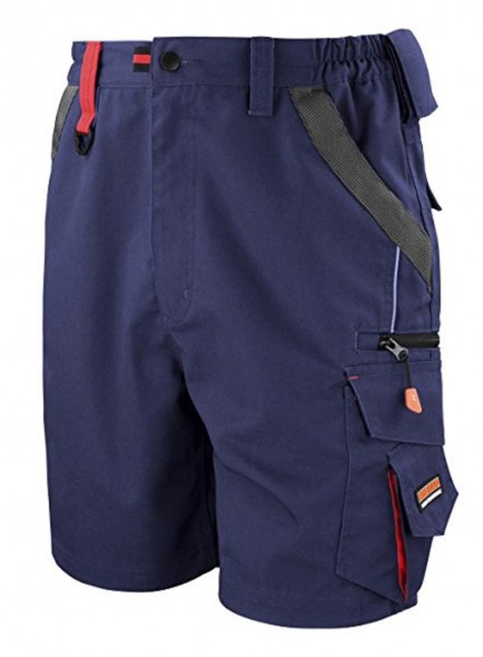 Result WORK-GUARD Technical Shorts, navy/black.