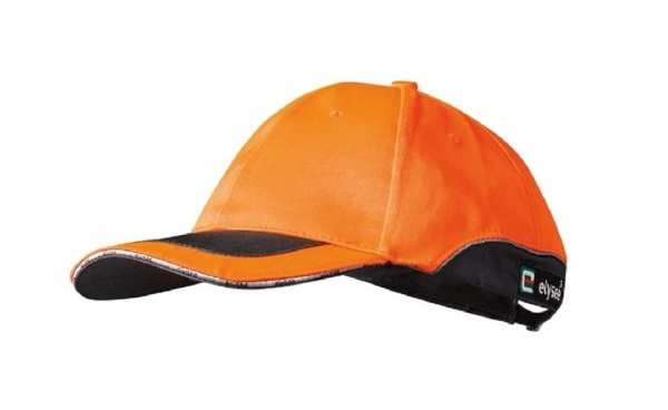 Cap orange/grau abgesetzt ROMAN