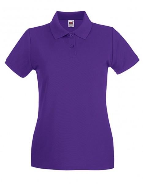 Damen Polo Lady-Fit: purple.