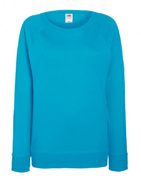Leightweight Raglan Sweat, azue blue.