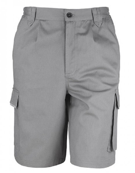 Result WORK-GUARD Action Shorts, grey.