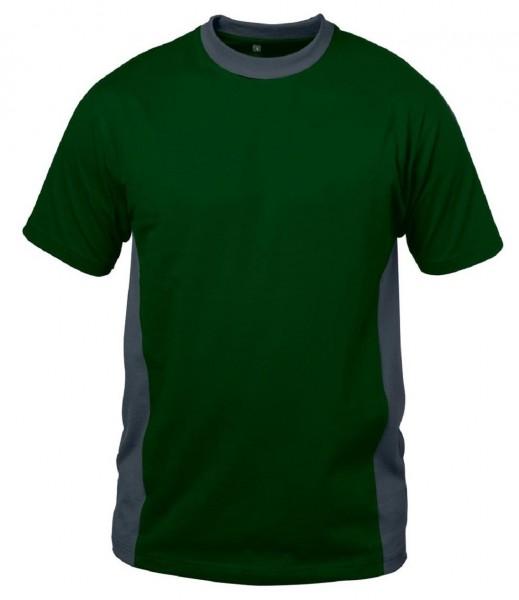 Shirt MALAGA, grün/grau