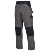 NITRAS Bundhose MOTION TEX LIGHT, grau/schwarz.