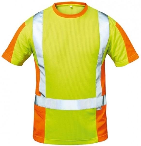 Warnschutz T-Shirt UTRECHT, gelb/orange.