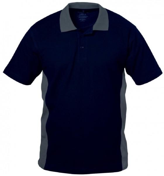 Polo Shirt marine/grau BILBAO