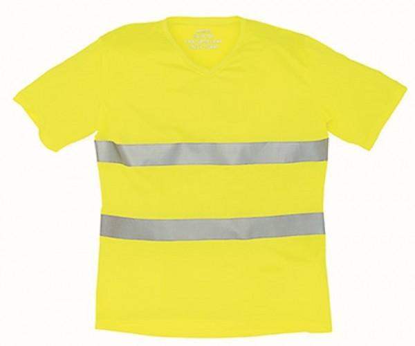 Hi Vis Top Cool Super Light V-Neck T-Shirt, yellow