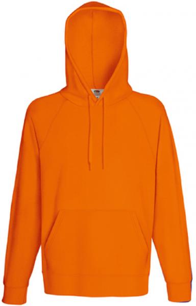 Lightweight Hooded Sweat, orange