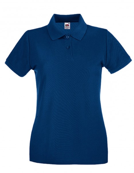 Damen Polo Lady-Fit: navy.