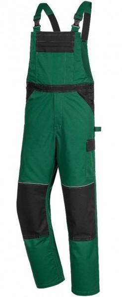 MOTION TEX Latzhose, grün/schwarz