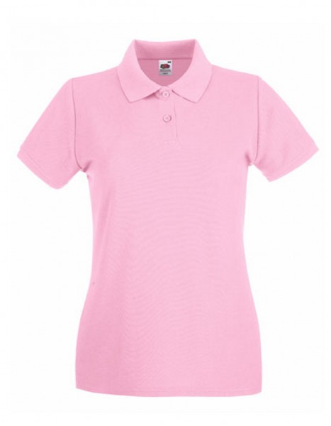 Damen Polo Lady-Fit: light pink.