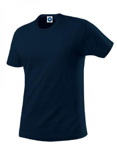Performance T-Shirt mit UV-Schutz, deep navy.