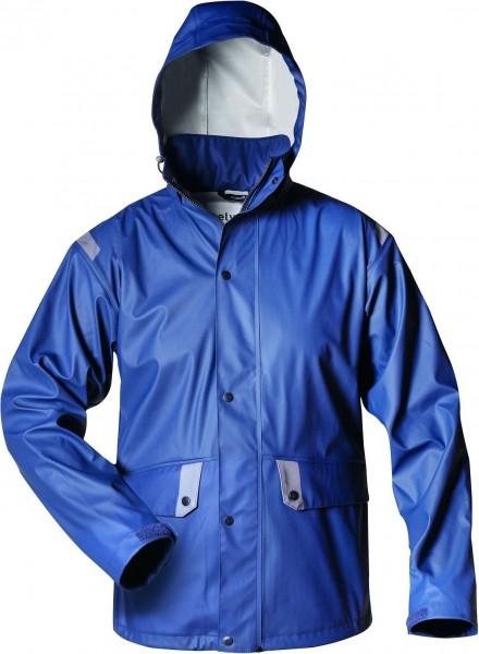 Atmungsaktive PU-Regenjacke, marineblau BIRSAY