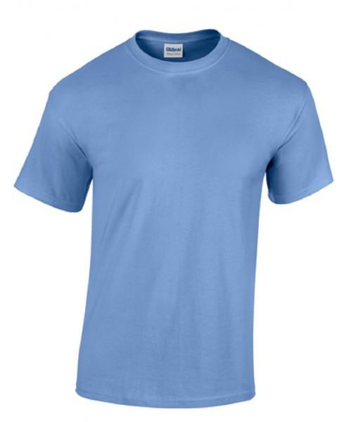 GILDAN Teavy CottonT-Shirt, carolina blue.