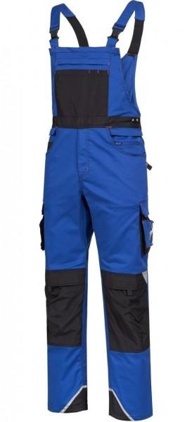 Latzhose MOTION TEX PRO FX, blau/schwarz