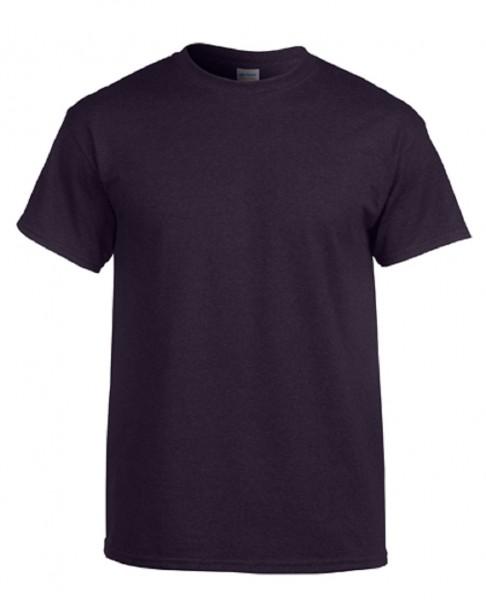 GILDAN Teavy CottonT-Shirt, blackberry.