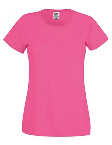 Damen T-Shirt Lady Fit: fuchsia