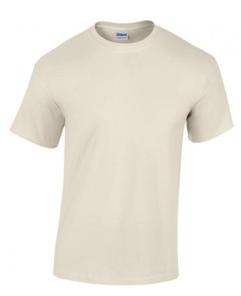 GILDAN Heavy Cotto T-Shirt, natural.