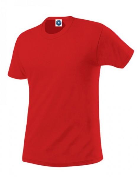 Performance T-Shirt mit UV-Schutz, bright red.