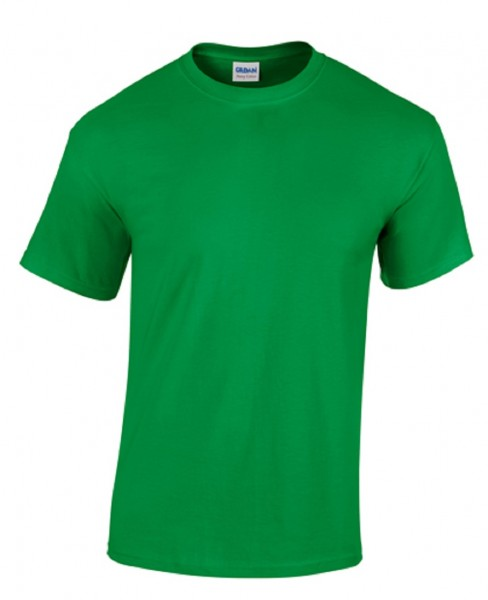 GILDAN Teavy CottonT-Shirt, rish-green.
