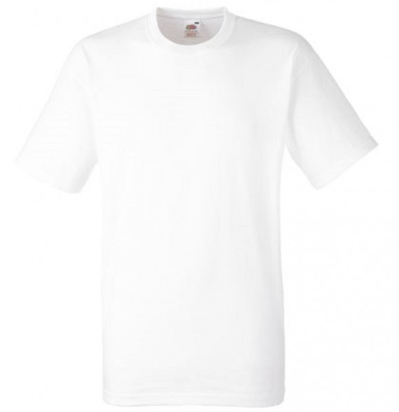 Heavy Cotton T-Shirt, white.