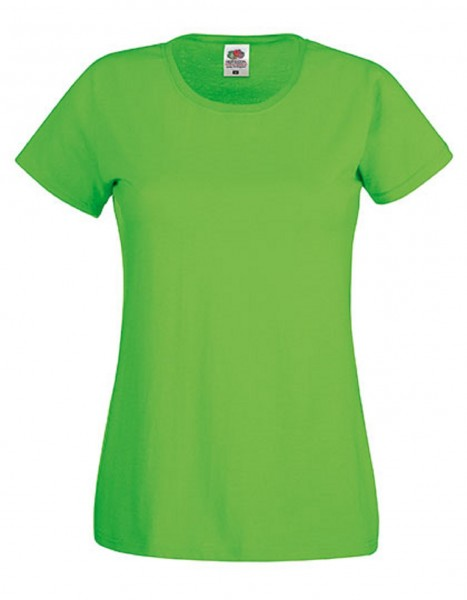 Damen T-Shirt Lady Fit: lime