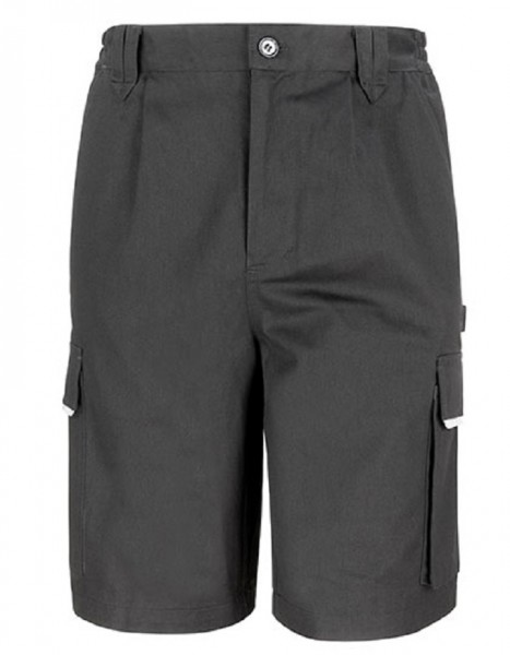 Result WORK-GUARD Action Shorts, black.