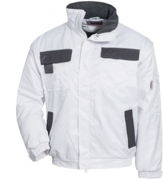 NITRAS Pilotenjacke EAGLE, weiß/grau