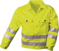 Warnschutz Jacke gelb