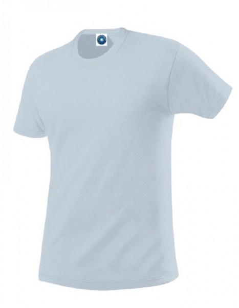 Performance T-Shirt mit UV-Schutz, sky.