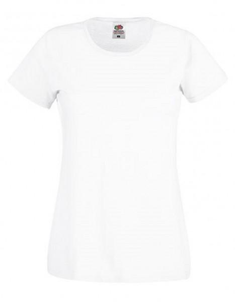 Damen T-Shirt Lady Fit: white