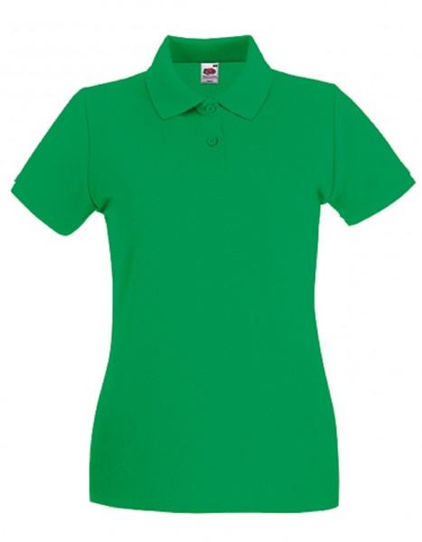 Damen Polo Lady-Fit: kelly green.